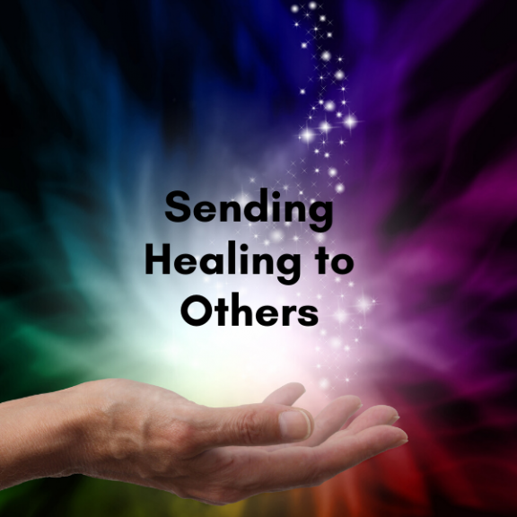 Seding healing to others by A Journey into magic